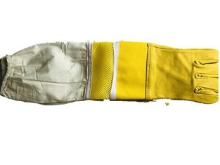 Good Quality Beekeeping Gloves & Sheepskin Beekeeping Gloves with Leather Part, Ventilated Net and Canvas on sale