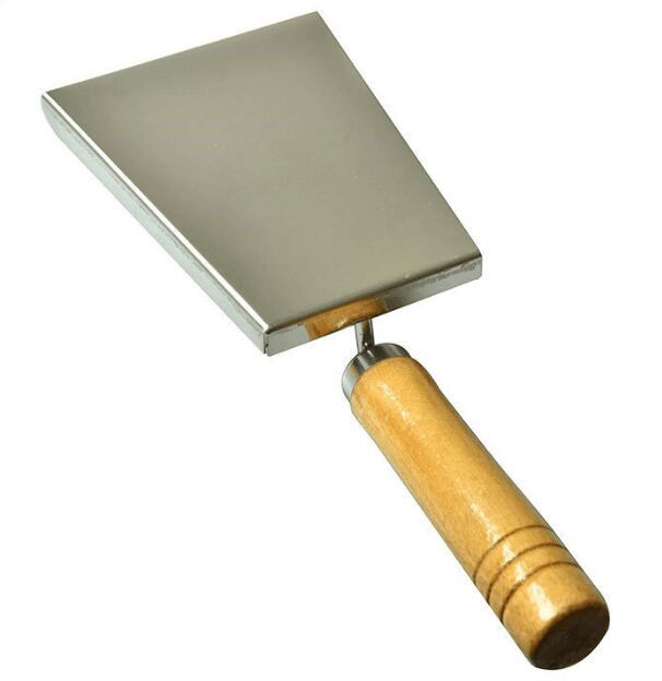 Durable Pollen  Shovel With Wooden Handle of Honey Uncapping Tools