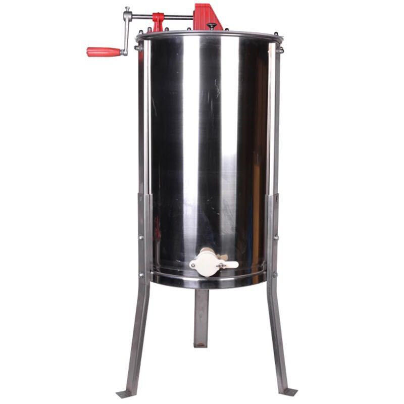 2 Frame Stainless Steel Manual Honey Extractor With Legs , Long - Life
