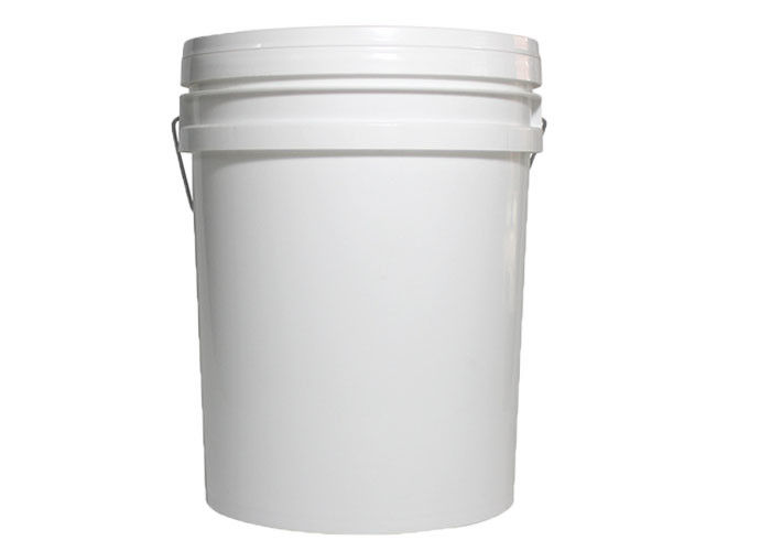 20L Yellow and White Color Plastic Bucket Tank Without Honey Gate