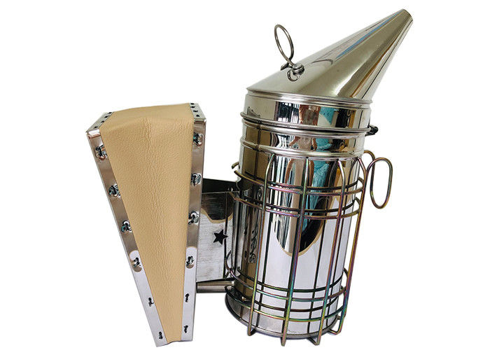 Galvanized Star American Style Bee Smoker M-XL Size