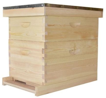 Fir And Pine Langstroth Style Bee Hive Flow Unassembled Beekeeping