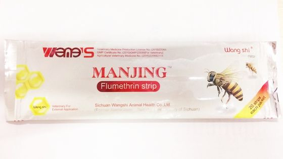 Manjing Flumethrin Strip Bee Killer Bee Medicine Curing Varroa Mites Of Bees