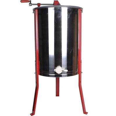 4 Frame Honey Extractor With Stainless Legs Stands For Beekeeping