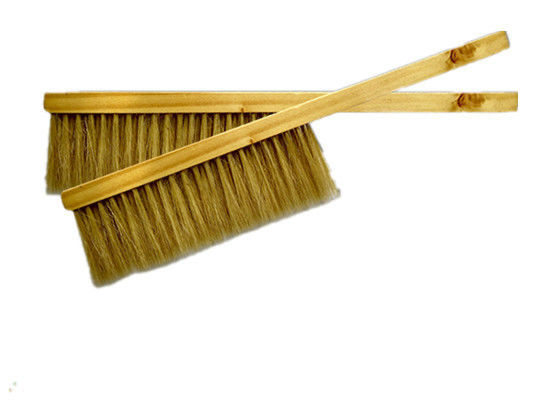 Bee Brush With Wooden Handle Double Row Bristle for Beekeeping