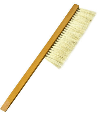 Beehive Brush With Wooden Handle Single Row Horse Hair For Beekeeping