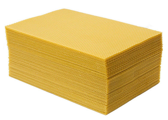 Grade A  type Beeswax foundation sheet  for Beekeeping