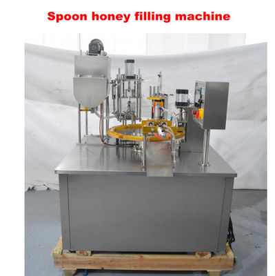 PLC Control AC 380V Automatic Honey Spoon Filling Machine