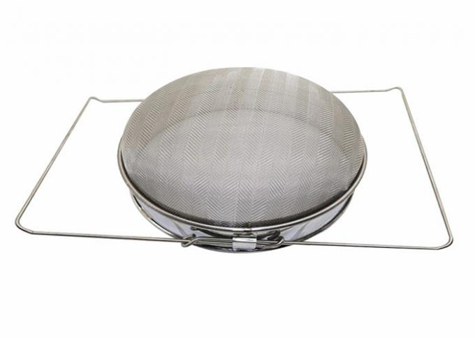 Stainless Steel Double Honey Strainer Filter Beekeeping Equipments